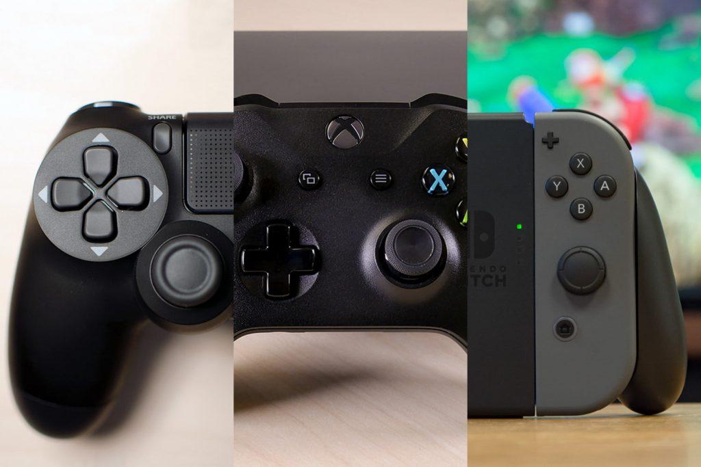 Game console controller Sony, Microsoft, Nintendo-bazi-psn.ir
