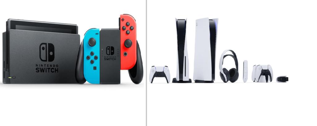 PS5-VS-Nintendo-Switch-bazi-psn.ir